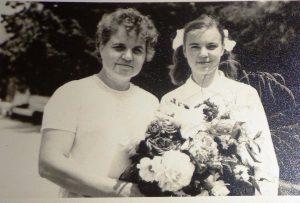 Мария Афанасьевна с ученицей
