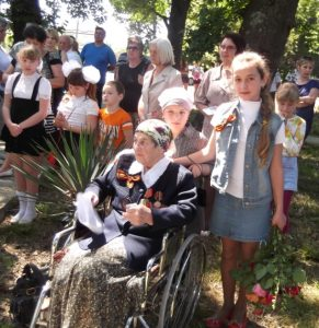 Глущенко Любовь Сергеевна - бабушка-ветеран ВОВ